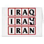 Iran to Iraq Card