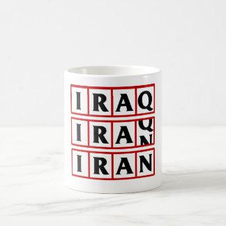 Iran to Iraq Coffee Mugs