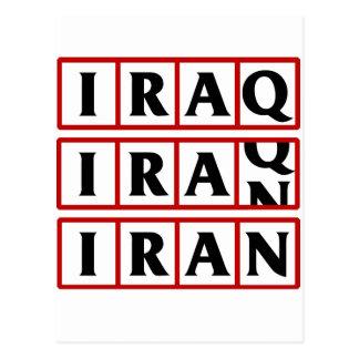 Iran to Iraq Postcards