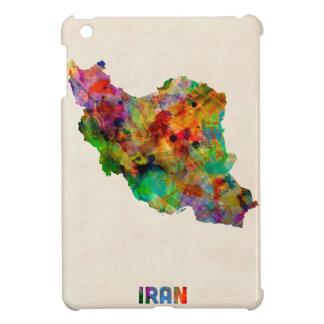 Iran Watercolor Map iPad Mini Cases