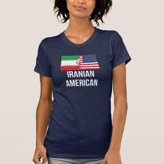 Iranian American Flag T-Shirt