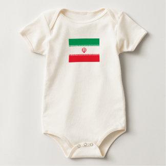 Iranian Flag Baby Bodysuit