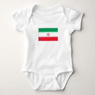 Iranian Flag Infant Creeper