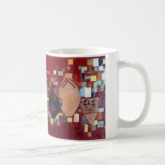 Iranian handicraft coffee mug