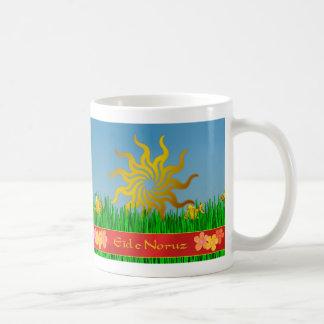 Iranian New Year سال نو مبارک spring flowers Classic White Coffee Mug