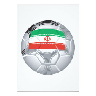 Iranian Soccer Ball Card