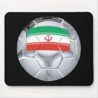 Iranian Soccer Ball Mouse Pad