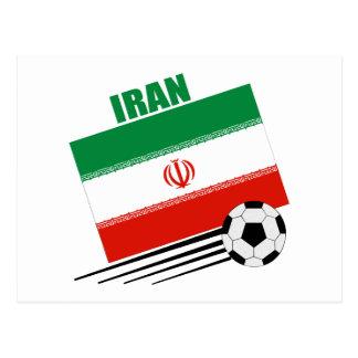 Iranian Soccer Team Postcard