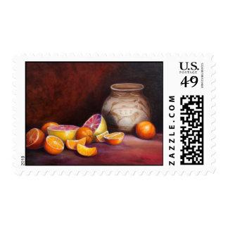 Iranian Still Life Stamp