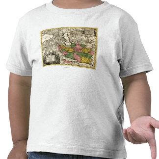 IranPanoramic MapIran Camiseta