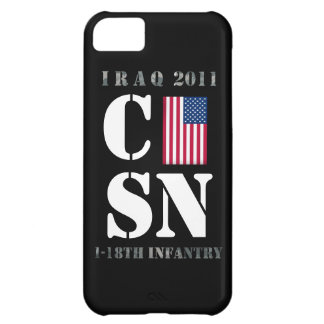 Iraq 2011 U.S Army 1-18th Infantry iPhone 5C Cases