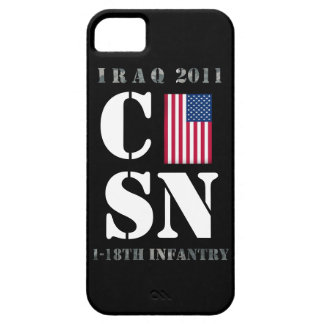 Iraq 2011 U.S Army 1-18th Infantry iPhone 5 Covers