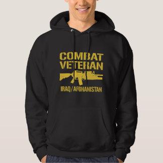 Iraq and Afghanistan Combat Veteran Hooded Sweatshirts