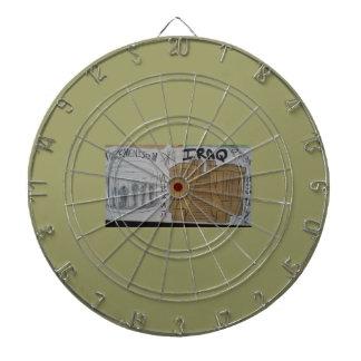 Iraq and Turkmenstan christian dart board