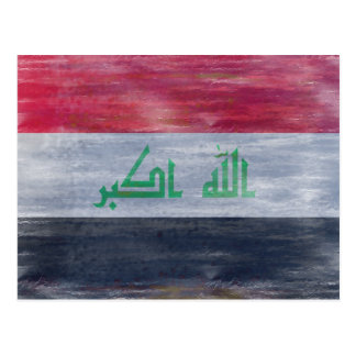 Iraq apenó la bandera postal
