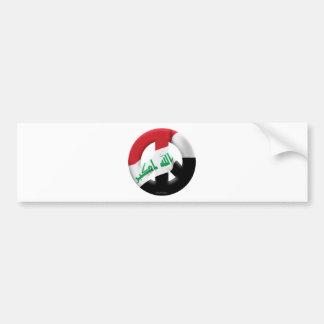 Iraq Car Bumper Sticker