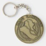 Iraq campaign medal key chain