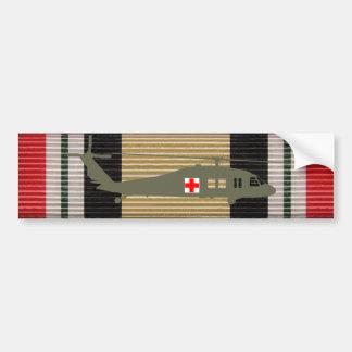 Iraq Campaign Medal Ribbon UH-60 Blackhawk Sticker