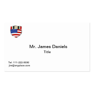 Iraq Campaign Ribbon Double-Sided Standard Business Cards (Pack Of 100)