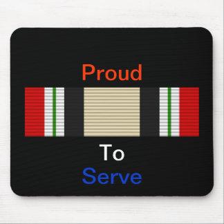 Iraq Campaign Ribbon Mouse Pad
