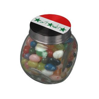 Iraq Glass Candy Jar
