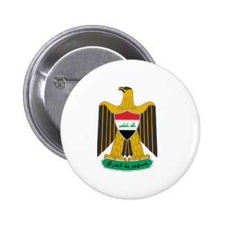 Iraq Coat of Arms Buttons