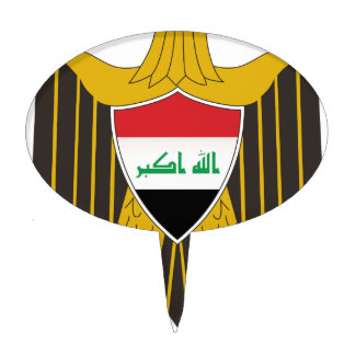 Iraq Coat of Arms Cake Toppers
