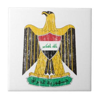 Iraq Coat Of Arms Ceramic Tile