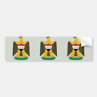 Iraq Coat of Arms detail Bumper Stickers