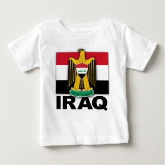 Iraq Coat of Arms Flag Baby T-Shirt