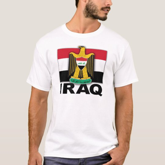Iraq Coat of Arms Flag T-Shirt