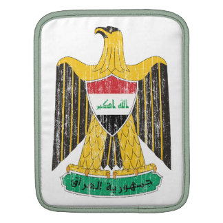 Iraq Coat Of Arms iPad Sleeves