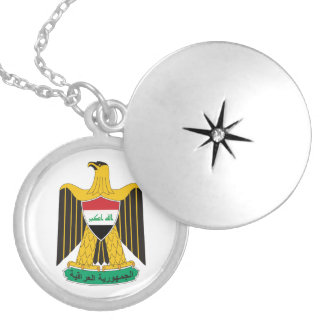 Iraq Coat of Arms Necklace