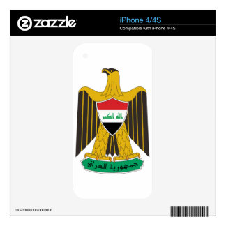 Iraq Coat of Arms Skins For The iPhone 4S