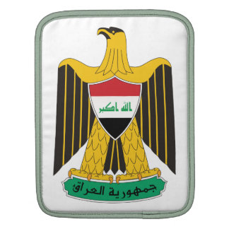 Iraq Coat Of Arms Sleeve For iPads