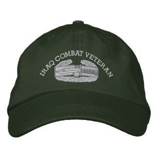 Iraq Combat Action Badge Hat Embroidered Baseball Cap