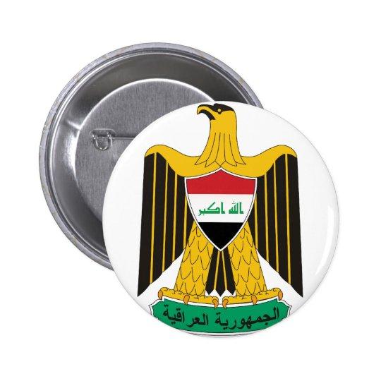 iraq emblem button