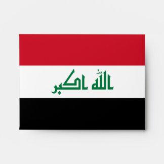 Iraq Flag Envelope