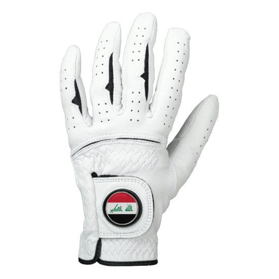 Iraq Flag Golf Glove