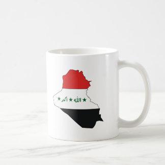 Iraq flag map mug
