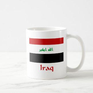 Iraq Flag Coffee Mugs