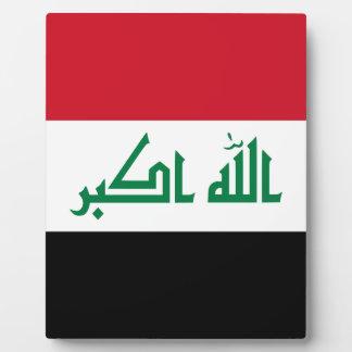 Iraq Flag Plaque
