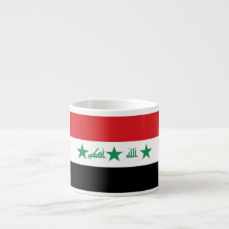 Iraq Flag Espresso Cup