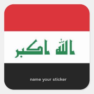 Iraq flag sticker