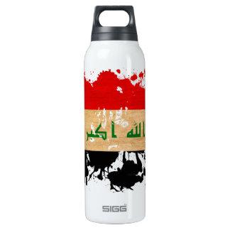 Iraq Flag Thermos Bottle