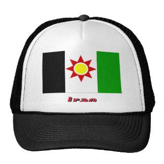 Iraq Flag with Name (1959-1963) Trucker Hat