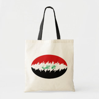 Iraq Gnarly Flag Bag Budget Tote Bag