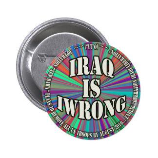 Iraq is Iwrong button