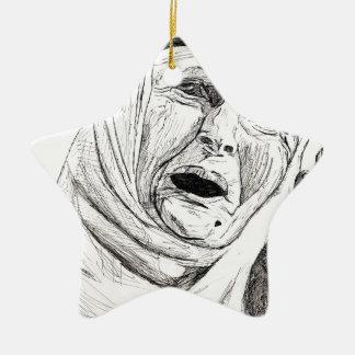 Iraq libre por Palestina libre Ornamentos De Navidad