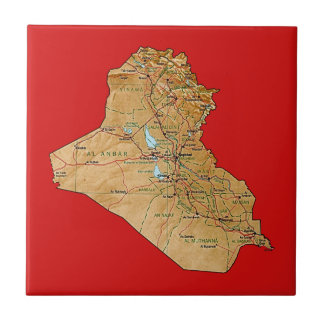 Iraq Map Tile